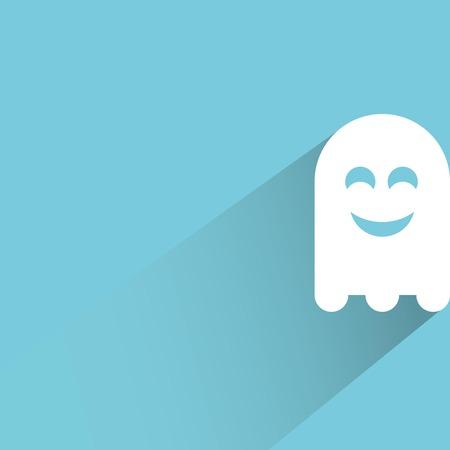 jinn: cute ghost Illustration
