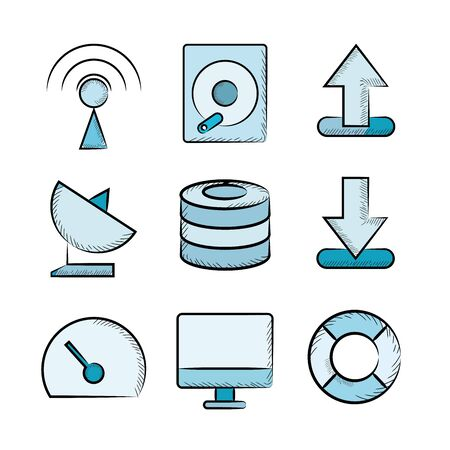database security: network icons
