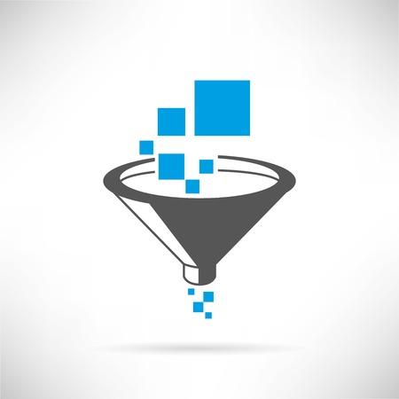 data filter Illustration