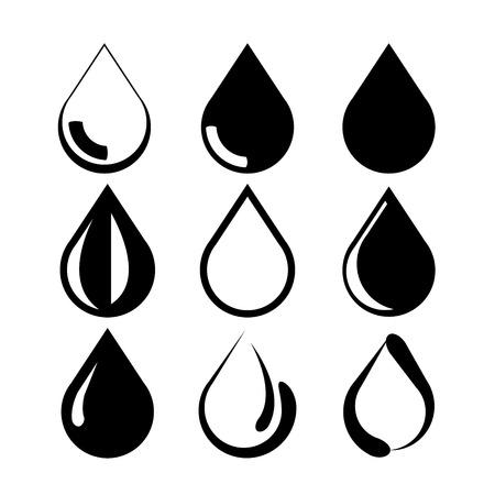 rain drop: water drop