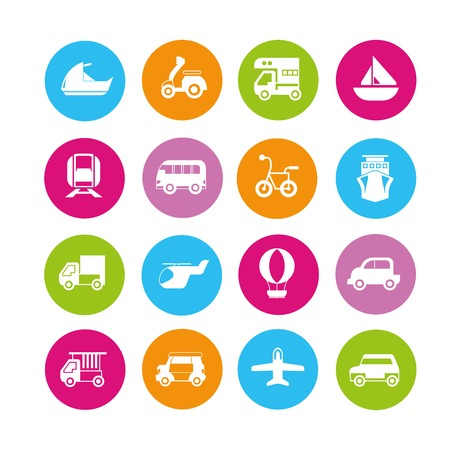 Auto, Fahrzeug-Icons