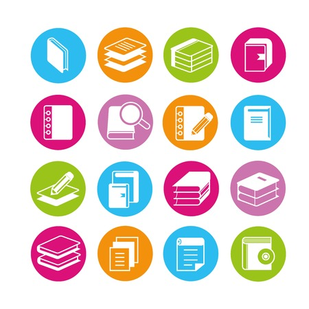 book and document icons