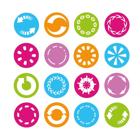 turn dial: reload icons