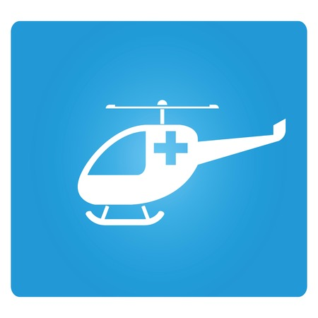 medic: medical helicopter icon