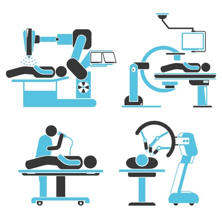 surgical operation: robotic surgery