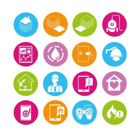 aplication: smart home icons