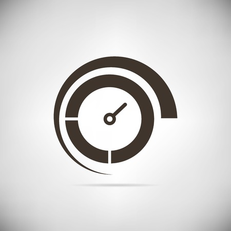 test drive: speedometer icons Illustration