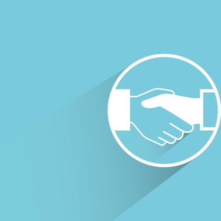 apreton de manos: apret?n de manos Vectores