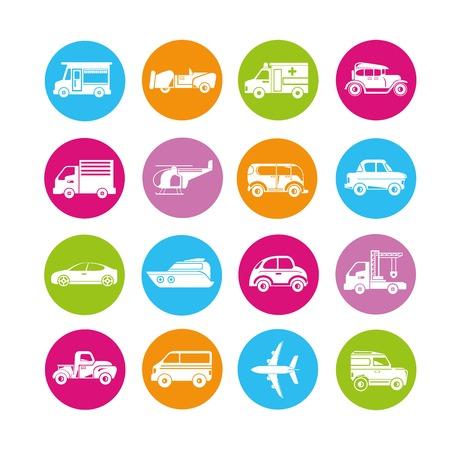 portage: vehicle icons