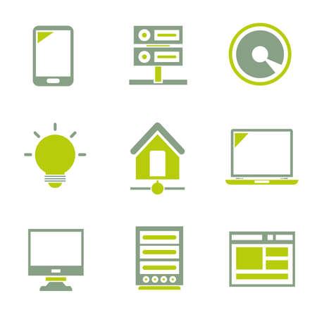 web icons: web icons