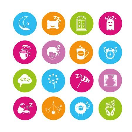 sleeping pills: sleep icons