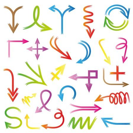 arrow circles: arrow