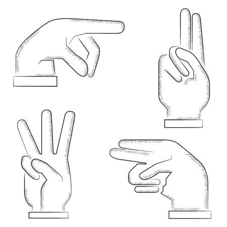 sketch hand signs