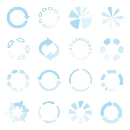 bucle: iconos de carga