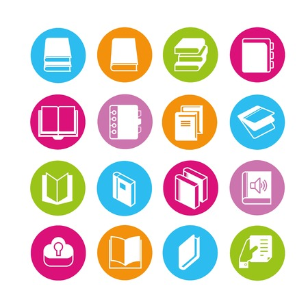 treatise: book icons
