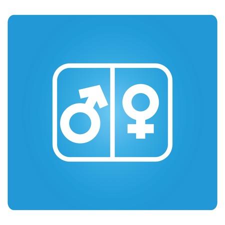 masculino: icono masculino y femenino