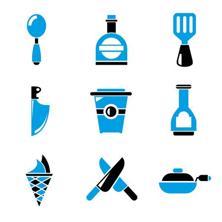 drink tools: kitchen icons