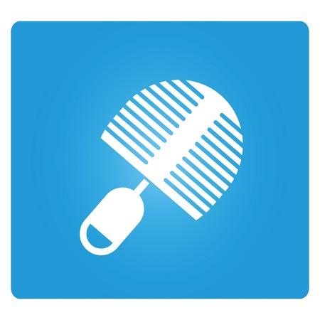 clean cut: bottle brush