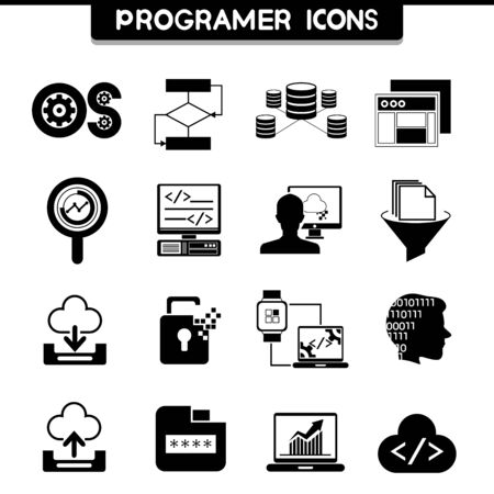 os: programming icons