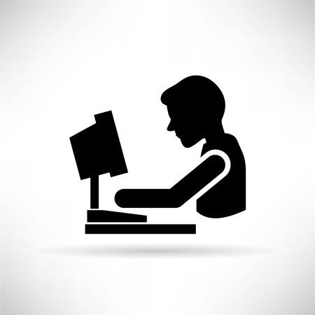 personas sentadas: de trabajo