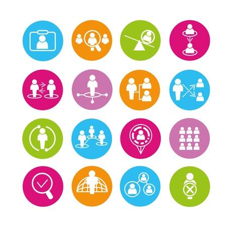 Business pictogrammen Stockfoto - 42115126