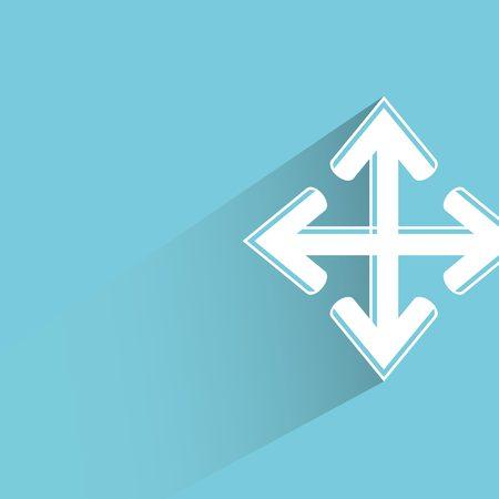conjunction: cross arrow
