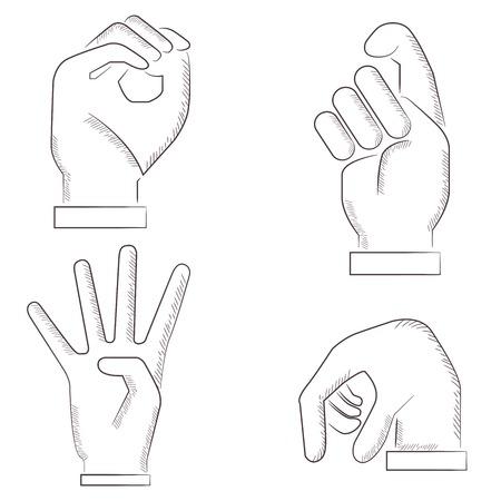 제스처: hand gestures