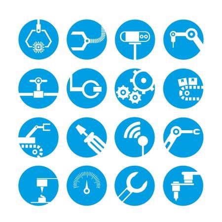 machinist: robot icons