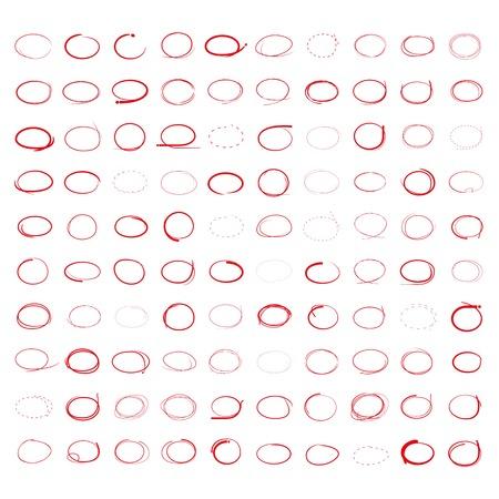 highlight: highlighter circles Illustration