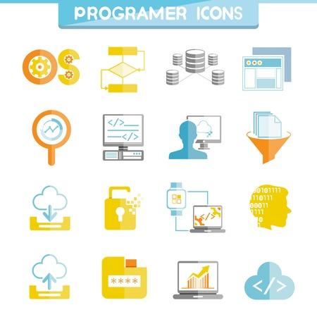 passwords: programmer icons