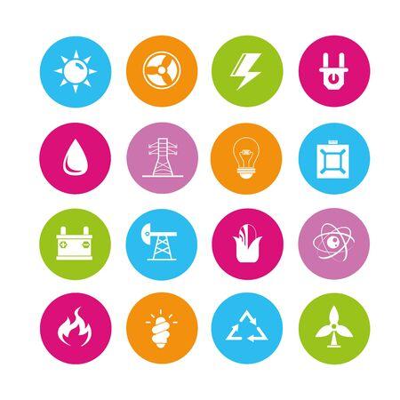 iconos energ�a: iconos de energ�a