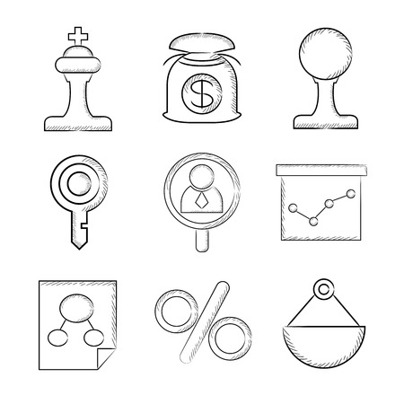 stratagem: sketch business icons