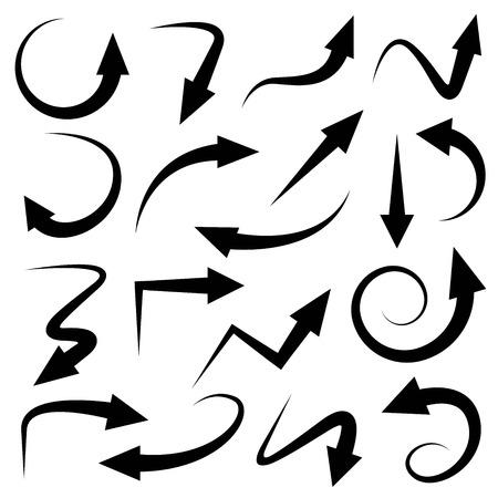 arrow icons Stock Illustratie