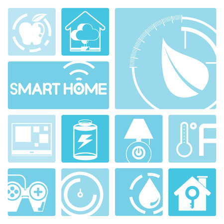 security icon: smart home icons