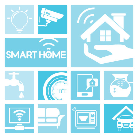 smart object: smart home icons