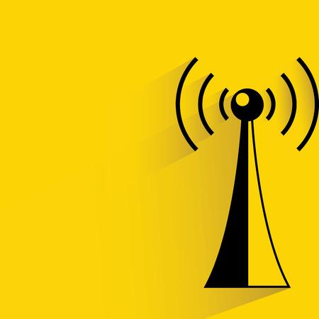 komunikacja: komunikacji anteny Ilustracja