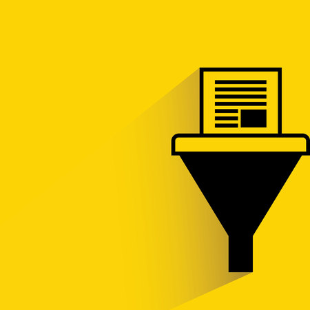 seep: data funnel Illustration