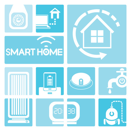 hoover: smart home icons