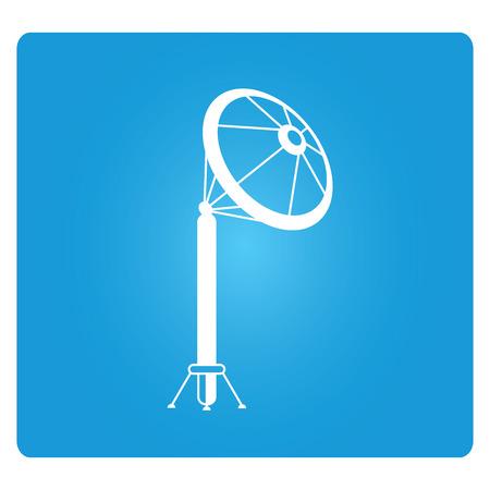 affiliation: telecommunications tower Illustration