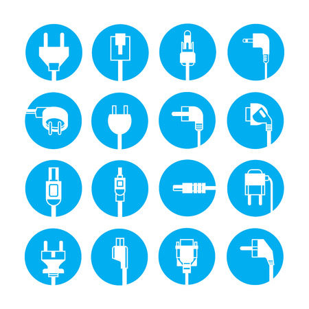 enchufe: iconos de enchufe
