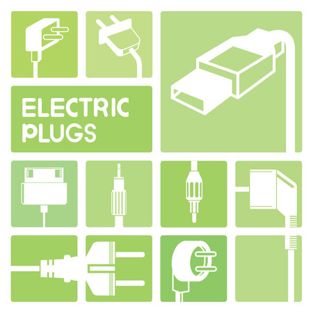 electric plug: Icone Spina elettrica