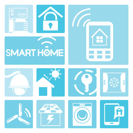 media gadget: smart home icons