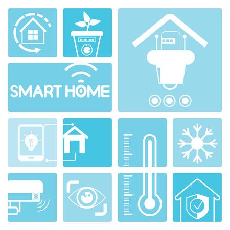 energy icon: smart home icons