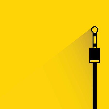 electrics: jack plug Illustration