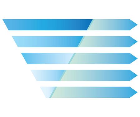 blue pyramid chart