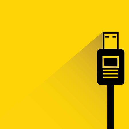 usb plug Illustration