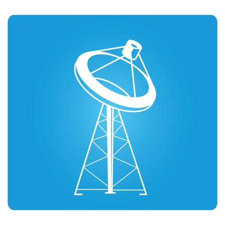 affiliation: telecommunications radio tower Illustration