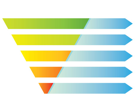 tier: pyramid digram Illustration