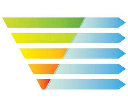 pyramid digram Illustration