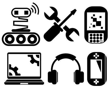 gadget: gadget icons set